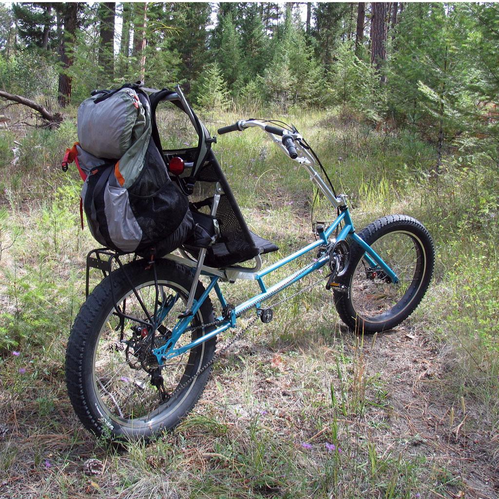 Lightfoot Cycles Bigfoot Ranger Recumbent Fat Bike Fat